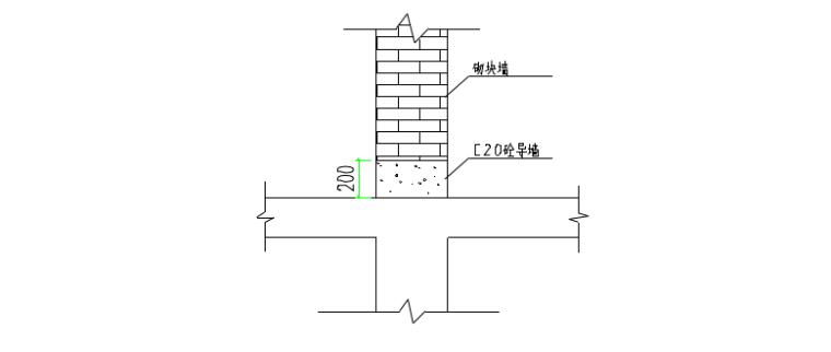 18层剪力墙结构住宅搂施工组织设计-05 混凝土导墙