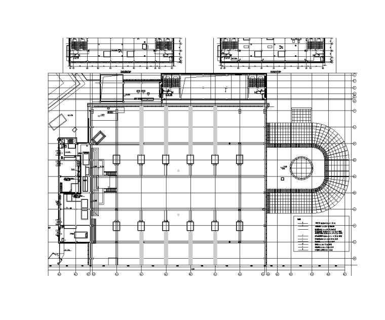 小区深化图纸资料下载-10万平商业建筑弱电深化图纸