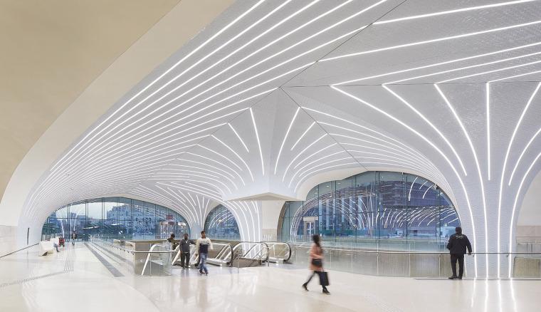 卡塔尔多哈地铁网络首批车站内部实景图3