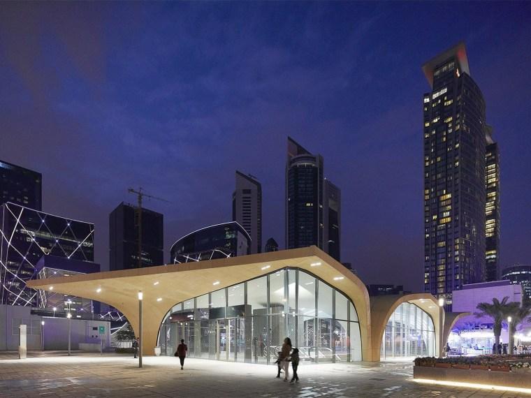 卡塔尔多哈地铁网络首批车站-00