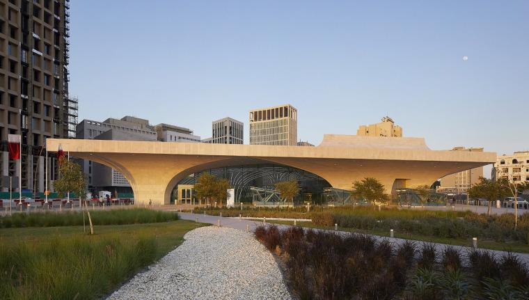 卡塔尔多哈地铁网络首批车站外部实景图2