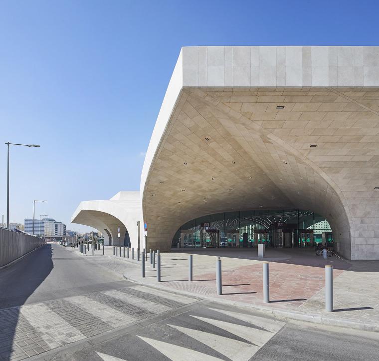 卡塔尔多哈地铁网络首批车站外部实景图4