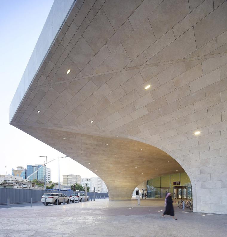 卡塔尔多哈地铁网络首批车站外部实景图5