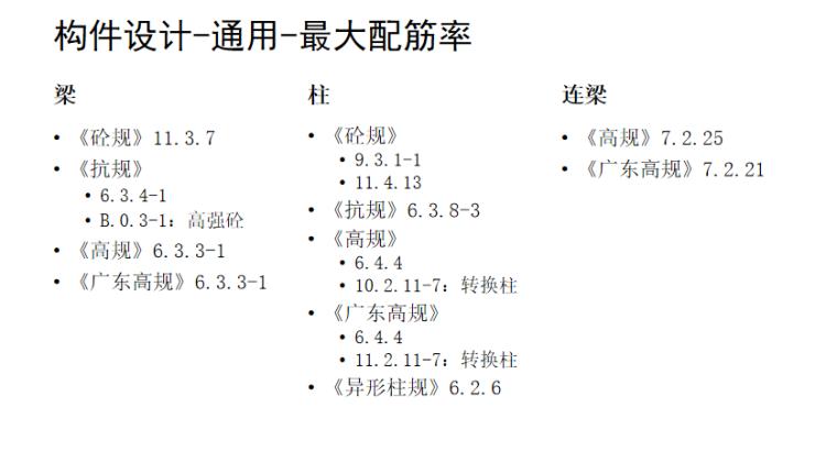工程校审模块介绍PPT(115页)-构件设计-通用-最大配筋率