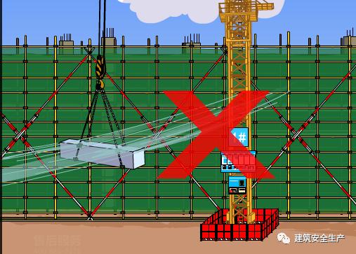 塔式起重机作业安全注意事项?18张漫画帮你_10