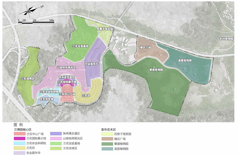 [贵州]都匀带状国家农业公园景观设计方案-功能布局规划
