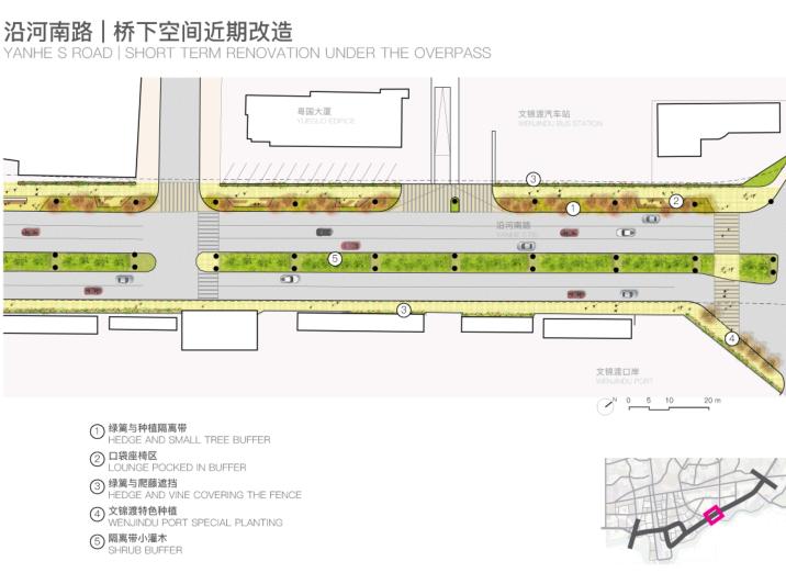 罗湖火车站及广深铁路沿线城市设计文本2018-桥下空间改造