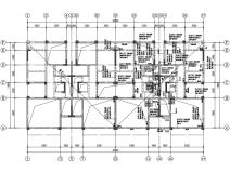 [贵州]3层框剪结构联排别墅结构施工图2018