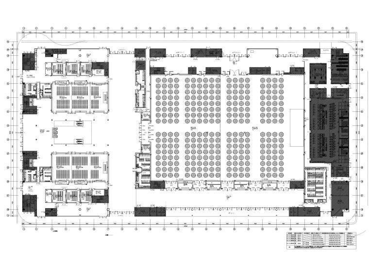 [广东]深圳国际会展中心C11展厅精装扩初图-一层平面布置图