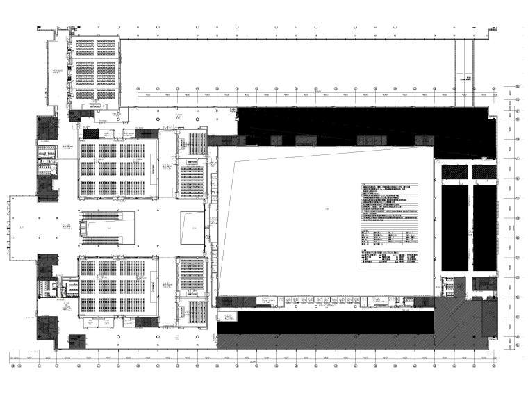 [广东]深圳国际会展中心C11展厅精装扩初图-二层平面布置图