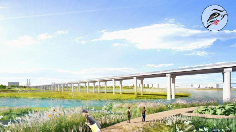 [四川]南充嘉陵江湿地公园景观设计方案-效果图