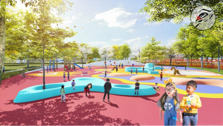 [四川]南充嘉陵江湿地公园景观设计方案-低度活动区