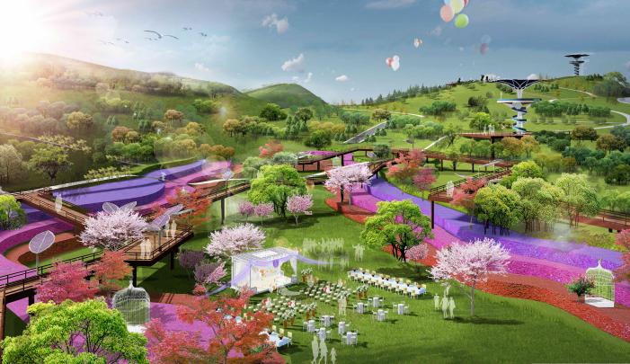 [贵州]都匀带状国家农业公园景观设计方案-婚庆广场