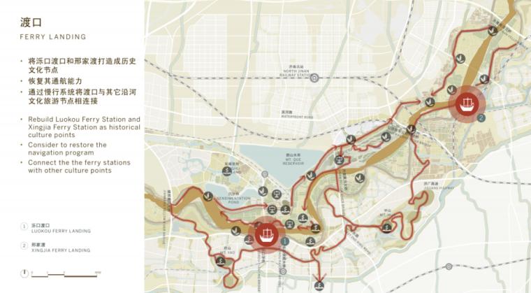 [山东]济南黄河公园景观设计方案-SOM-渡口设计
