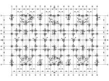 [贵州]4座框剪结构合院别墅结构施工图2018