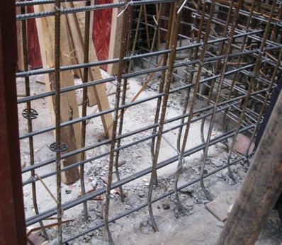 人防工程建设质量控制-插筋定位