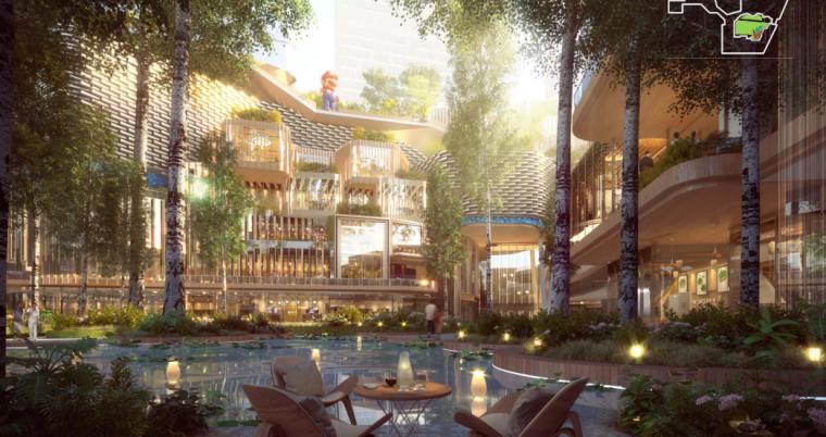 深圳商业综合体景观设计方案文本-微信截图_20200912165449