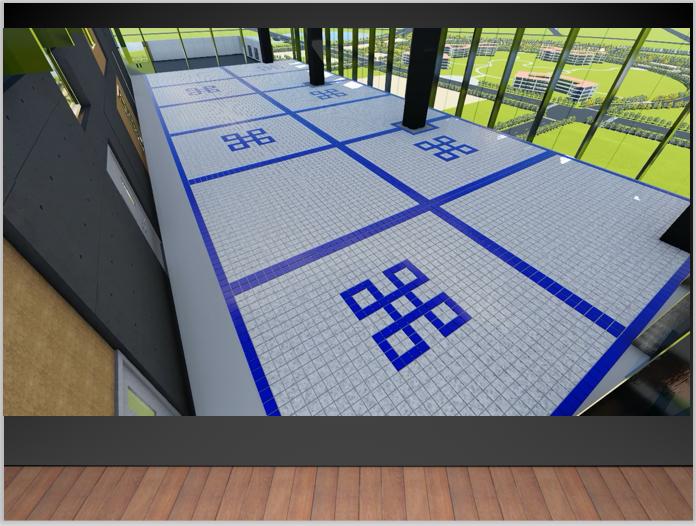 BIM技术中心建立过程经验分享PPT-屋面排砖应用