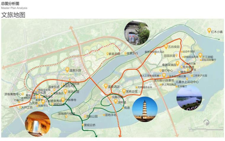 [浙江]龙游凤凰康养文旅小镇策划与规划-文旅地图