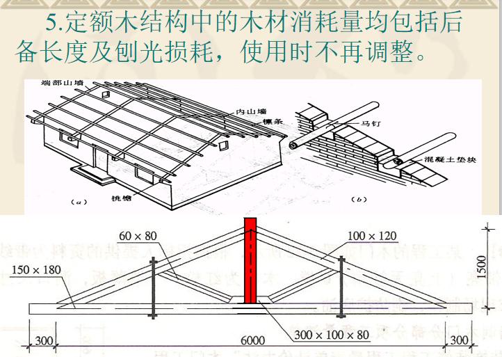 门窗及木结构工程定额及工程量计算PPT-02 定额木结构