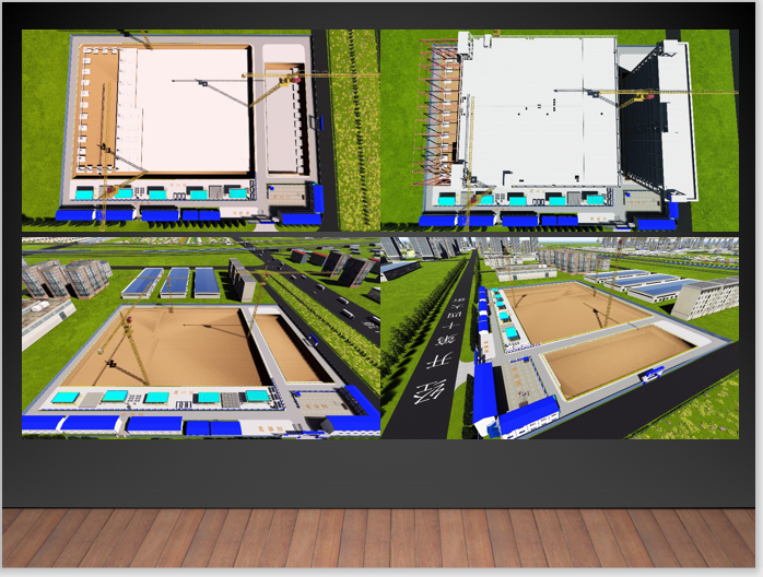 BIM技术中心建立过程经验分享PPT-施工模拟