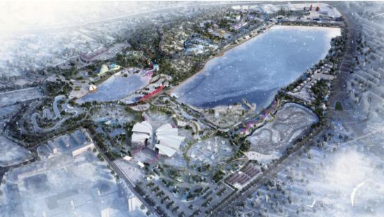 [一键下载]13套公园景观高清方案资料合集-[乌鲁木齐]湿地公园城市主题乐园设计方案