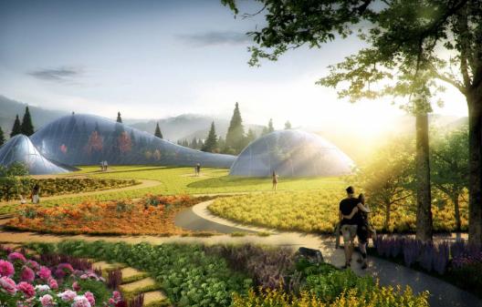 [一键下载]13套公园景观高清方案资料合集-[四川]成都绛溪河公园景观概念设计-SWA