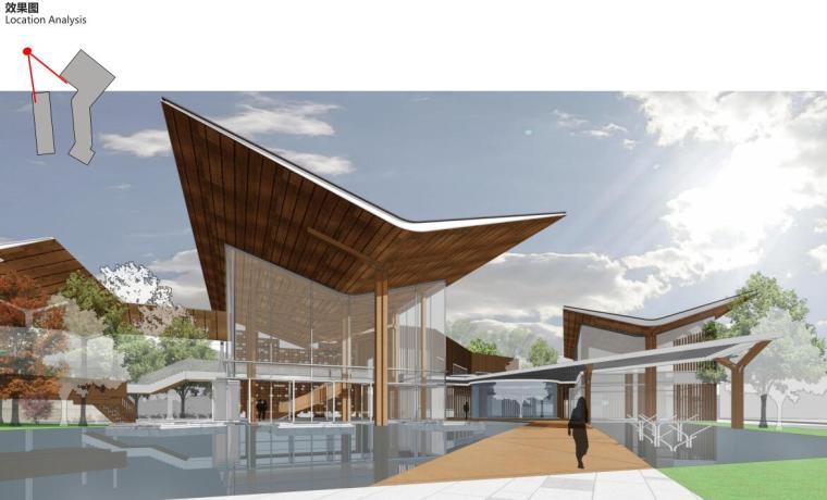[云南]生态环串联居住区建筑方案设计竞赛-效果图