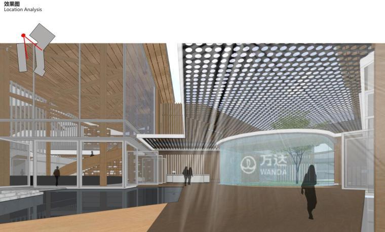 [云南]生态环串联居住区建筑方案设计竞赛-效果图1