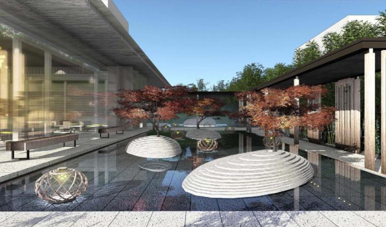 [江苏]苏州新亚洲风格高端豪宅景观设计-效果图5