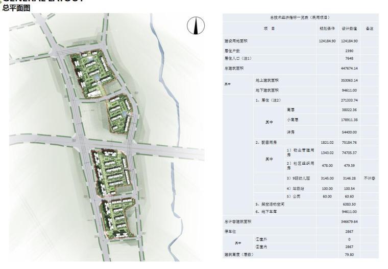 [重庆]两江新区新中式山地住宅投标方案-总平面图