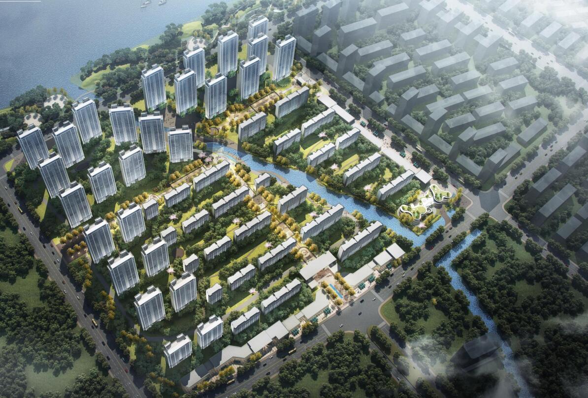 教育小镇居住用地规划建筑方案设计-2020年
