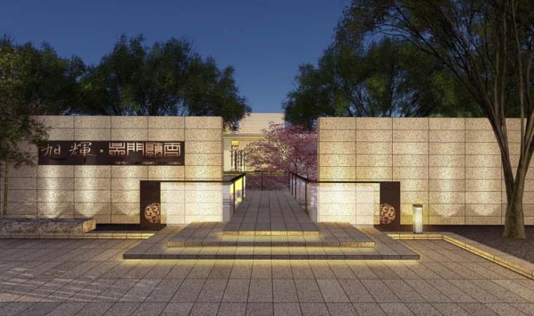 [江苏]苏州新亚洲风格高端豪宅景观设计-效果图3