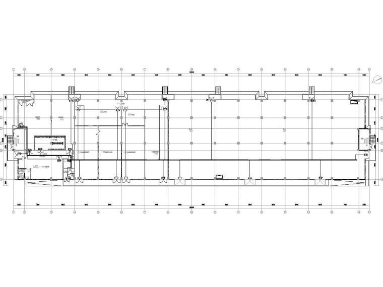 [一键下载]重庆某数据中心电气图纸(全)-[重庆]数据机房中心智能化招标图-3门禁系统平面图