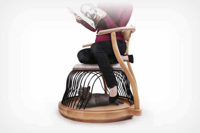 为您和您的宠物准备的躺椅实景图1