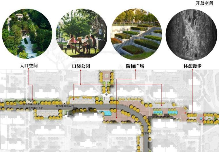 [山东]青岛新中式风格生态区豪宅建筑方案-开放空间