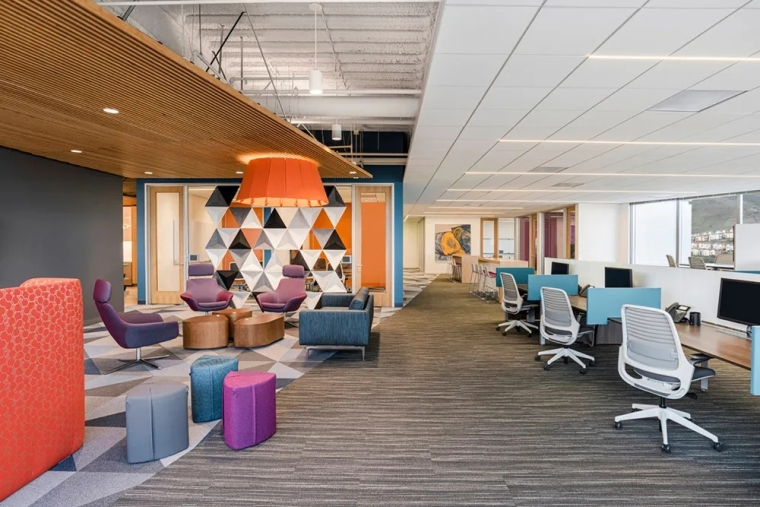 美国ZSAssociates办公室扩张-美国ZS Associates办公室扩张室内实景图4