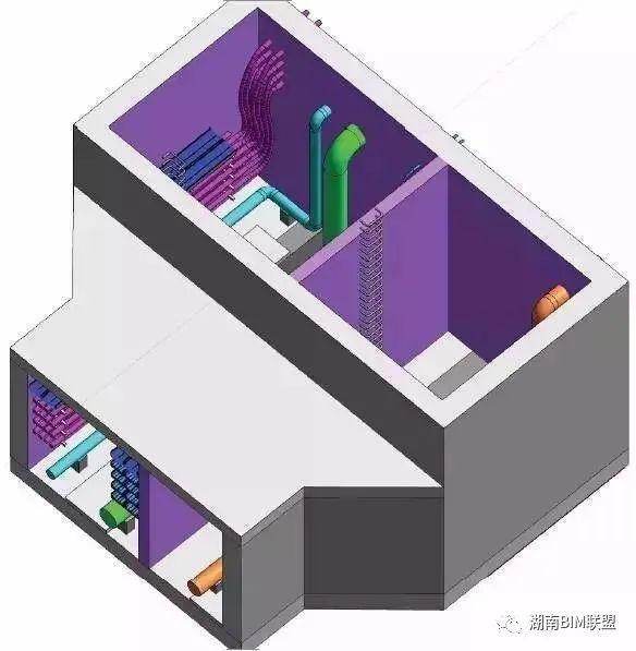 还不了解城市综合管廊?一组BIM图让你全懂_45