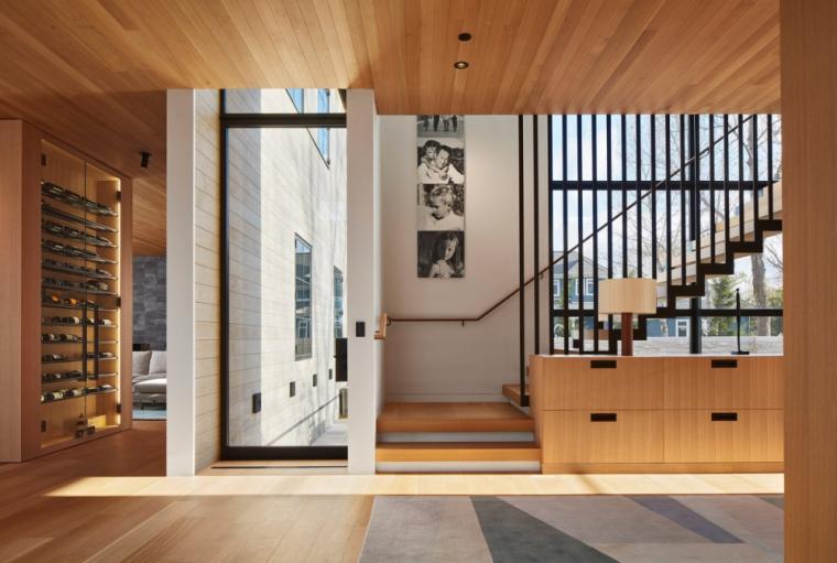 芝加哥滨水双层住宅室内实景图 (14)