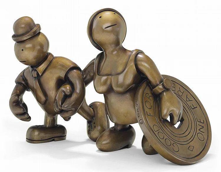 他设计了受全世界欢迎的雕塑,却也引人深思_59