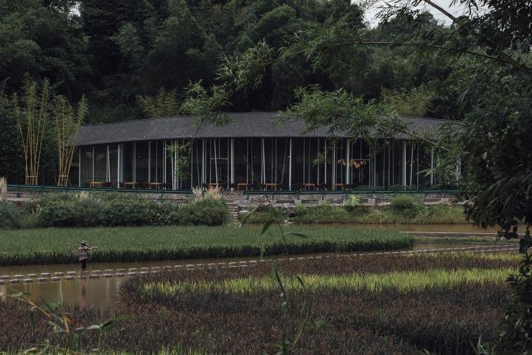 四川竹枝书院外部实景图19