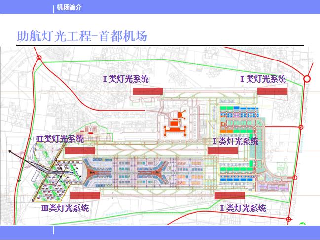 北京某机场设计简介PPT(116页)-助航灯光工程-首都机场