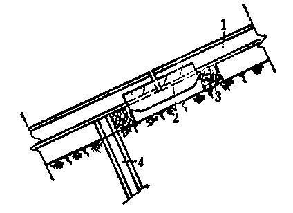 矿山斜井施工方案-钢轨固定枕木法