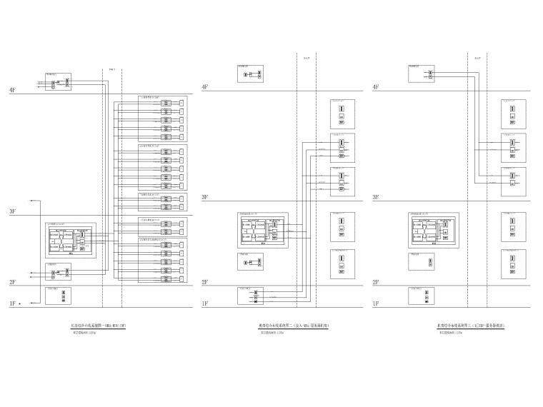 [上海]某银行征信中心装修工程电气施工图-9综合布线系统图