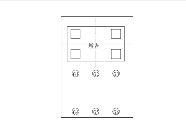 [浙江]跨海大桥通航孔技术方案及相关图纸-钢管桩平面布置图