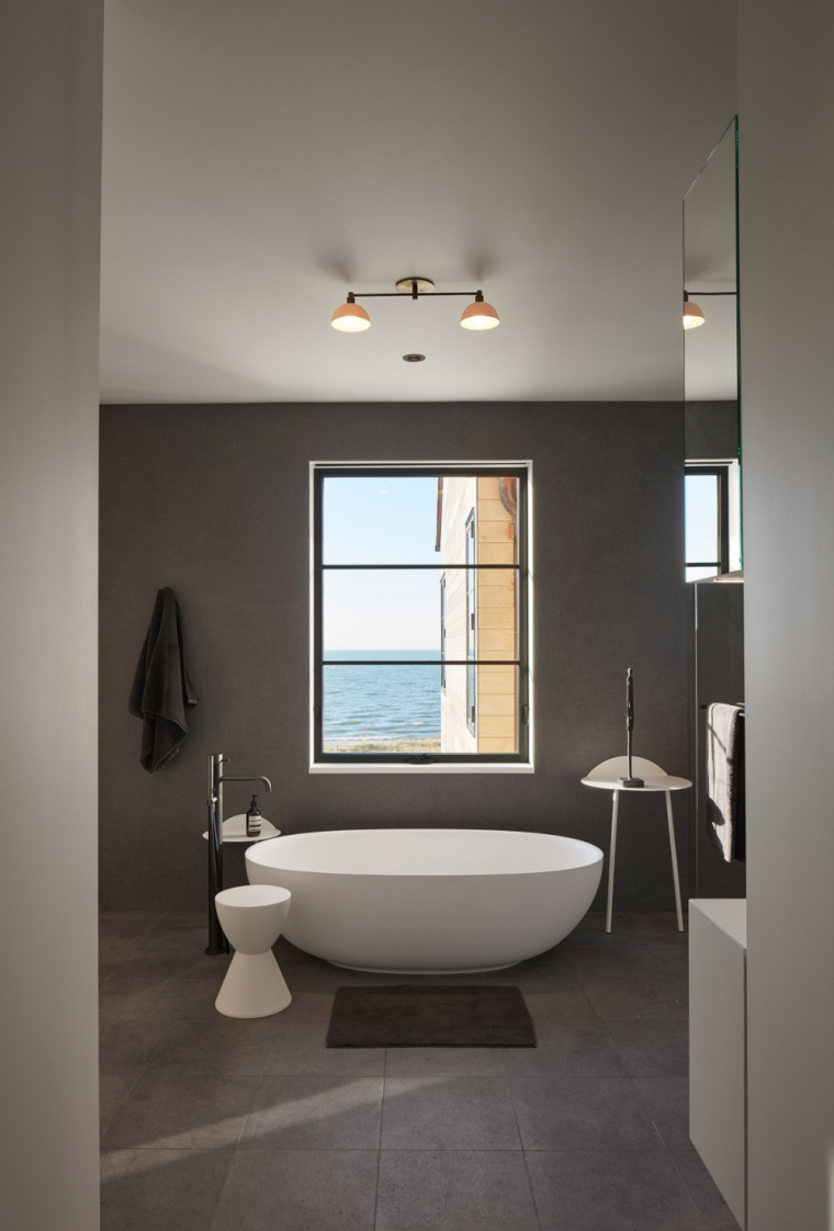 芝加哥滨水双层住宅室内实景图 (1)