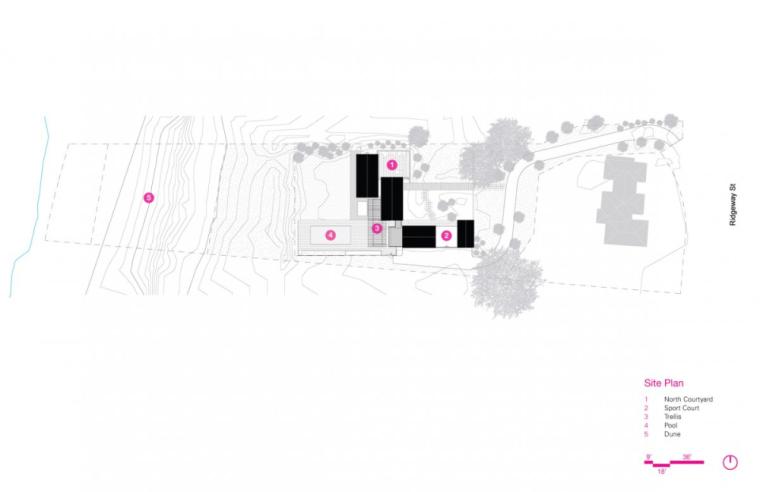 芝加哥滨水双层住宅平面图 (2)