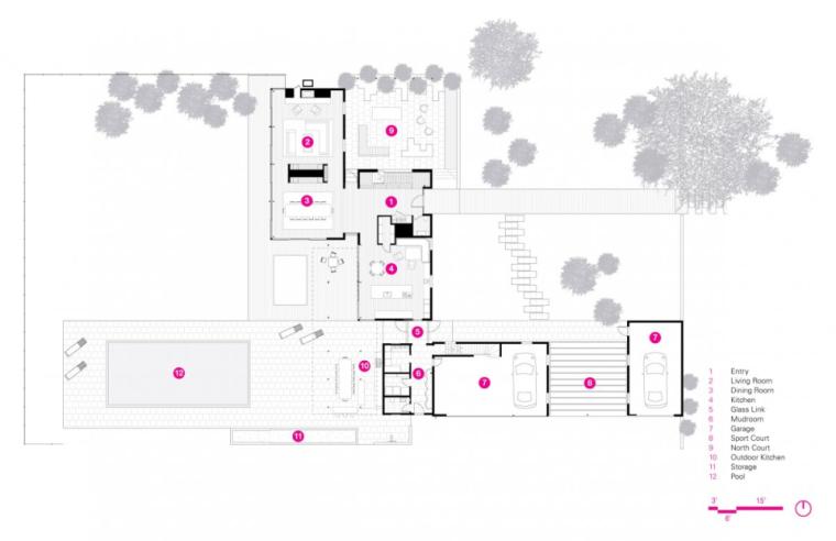 芝加哥滨水双层住宅平面图 (3)