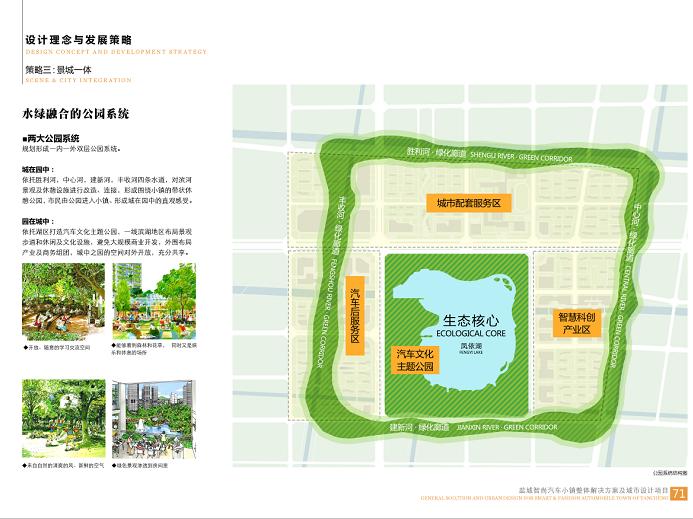 盐城智尚汽车小镇整体解决方案城市设计2018-公园系统