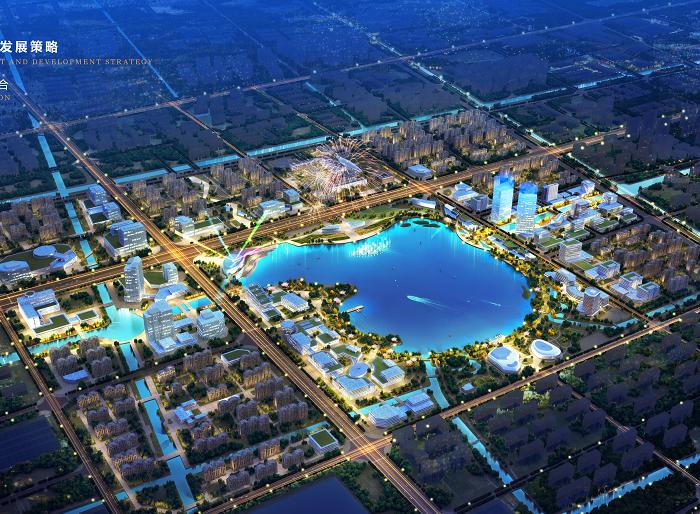 盐城智尚汽车小镇整体解决方案城市设计2018-鸟瞰图
